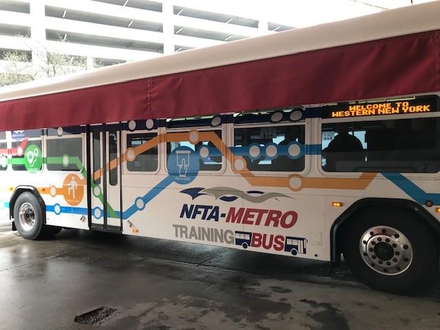 NFTA Elements - Metro Launches Training Bus